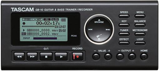 Портативный рекордер TASCAM GB-10